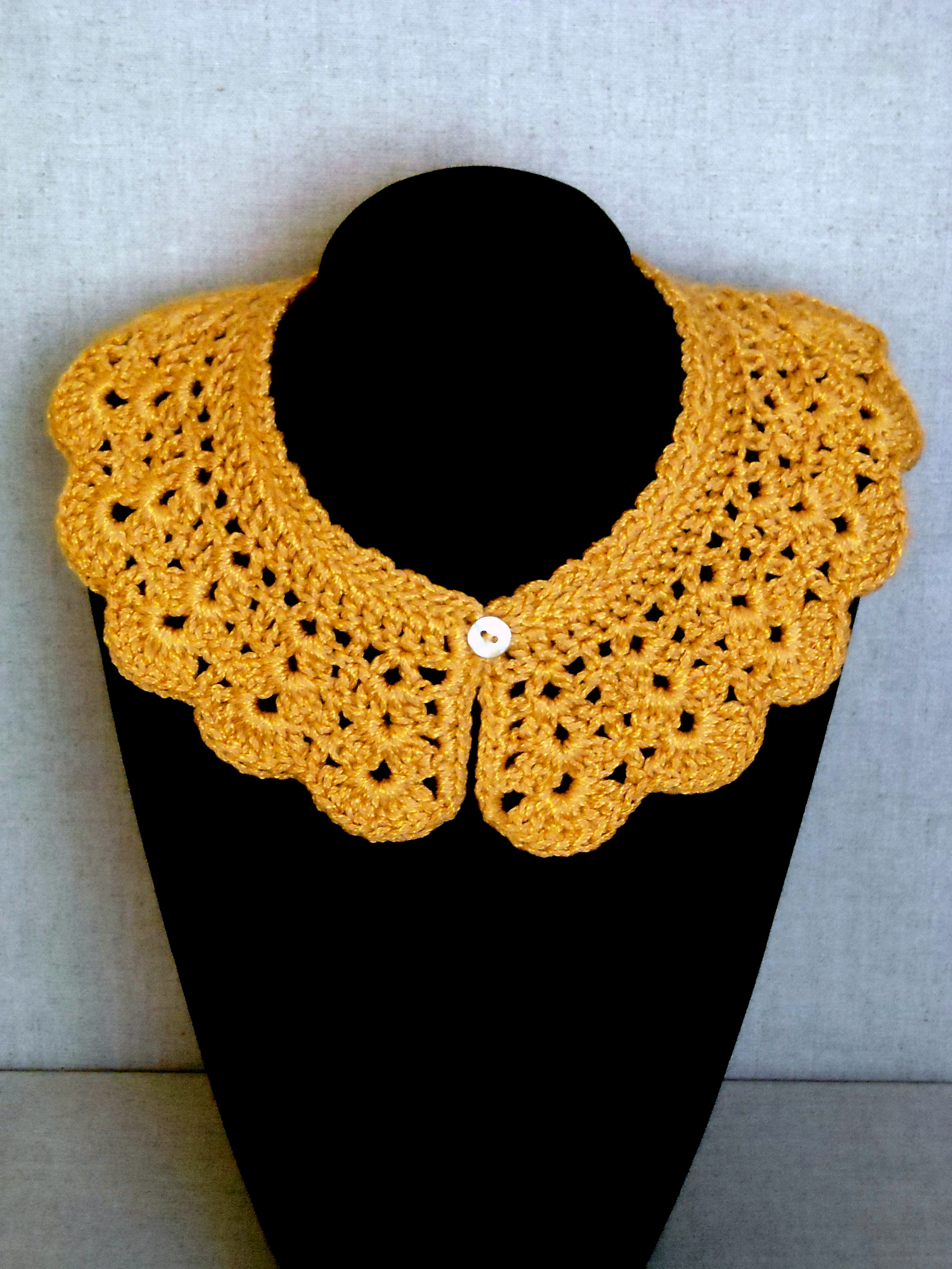 Crochet Collar On Luulla